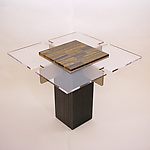 Wood & Stone Table by John Nalevanko