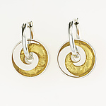 Silver & Resin Earrings by Victoria Varga