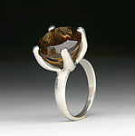 Silver & Stone Ring by Robert Curnow