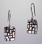 Gold & Silver Earrings by Sydney Lynch