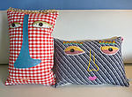 Fiber Pillows by Kinga Czerska