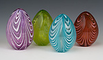 Art Glass Sculpture by Paul Lockwood