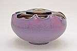 Art Glass Bowl by Dierk Van Keppel