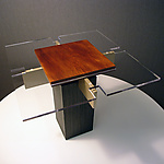 Wood Side Table by John Nalevanko