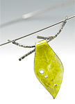 Enameled Necklace by Reiko Miyagi