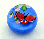 Art Glass Paperweight by Mayauel Ward