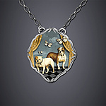 Silver Necklace by Dawn Estrin