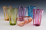 Art Glass Tumblers by David Clancy