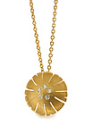 Gold & Stone Necklace by Catherine Iskiw
