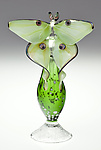 Art Glass Perfume Bottle by Loy Allen