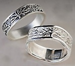 Silver Wedding Band by Connie Ulrich