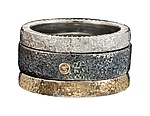 Gold, Silver, & Stone Ring by Jenny Reeves