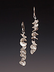 Silver Earrings by Caroline Viene