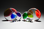 Art Glass Paperweight by Casey Hyland