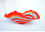 Art Glass Bowl by Benjamin Silver