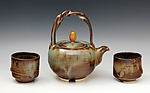 Ceramic Tea Set by Ron Mello