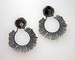 Silver & Stone Earrings by Ashley Vick