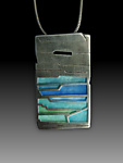 Enameled Necklace by Carly Wright