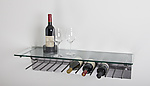 Metal Wine Rack by Julie Girardini