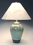 Ceramic Table Lamp by Suzanne Crane