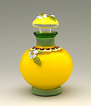 Art Glass Perfume Bottle by Chris Pantos