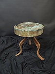 Metal Stool by David Coddaire