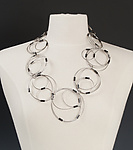 Steel Necklace by Kathleen Nowak Tucci