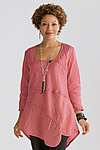 Linen Tunic by Cynthia Ashby
