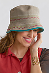 Linen Hat by Renee Roeder-Earley
