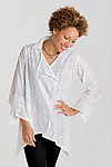 Cotton Woven Shirt by Lynn Mizono