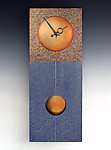 Wood Clock by Leonie  Lacouette