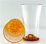 Art Glass Tumbler by Michael Egan