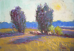 Pastel Painting by Dorothy Fagan