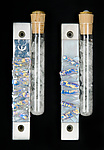 Art Glass Mezuzah by Alicia Kelemen