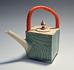 Ceramic Teapot by Vaughan Nelson