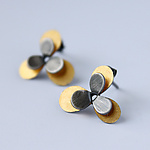 Gold & Silver Earrings by Moira Lime
