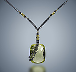 Silver & Stone Necklace by Judy Bliss