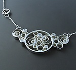 Silver & Stone Necklace by Marilee Nielsen