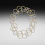 Gold & Silver Necklace by Suzanne Q Evon