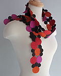 Silk & Wool Scarf by Mila Sherrer