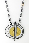 Gold & Silver Necklace by Sydney Lynch