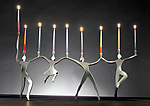 Metal Menorah by Boris Kramer