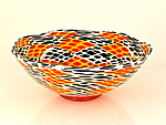 Art Glass Bowl by Michael Egan