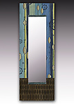 Wood Mirror by Janna Ugone
