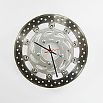 Metal Clock by Michole  Madden