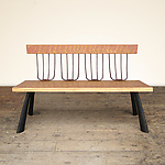 Wood Bench by Brad Smith