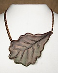 Metal Necklace by Sarah Cavender