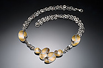 Gold & Silver Necklace by Judith Neugebauer