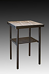 Metal Side Table by Janna Ugone