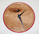 Wood Clock by Todd  Bradlee